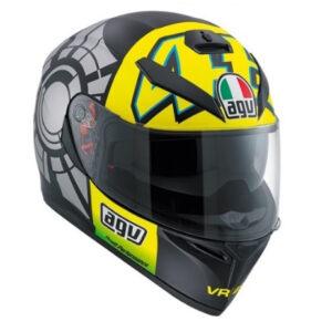 CASCO Agv K3 SV Pinlock Rossi Winter Test 2012